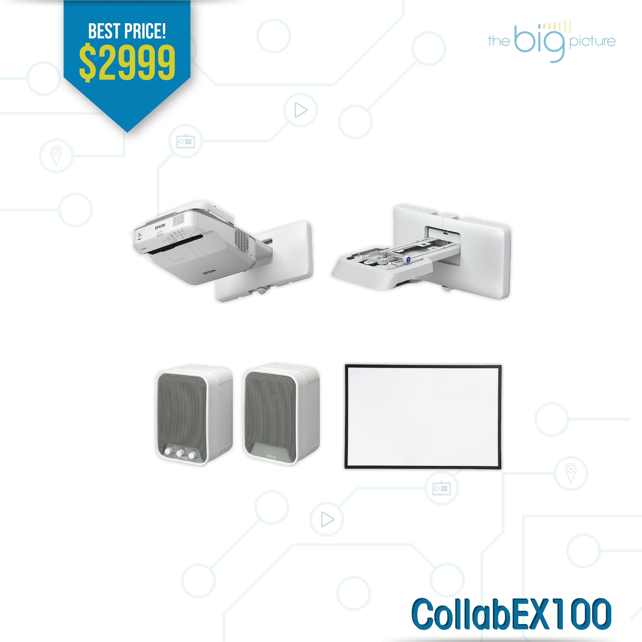 A set of products for CollabEX100