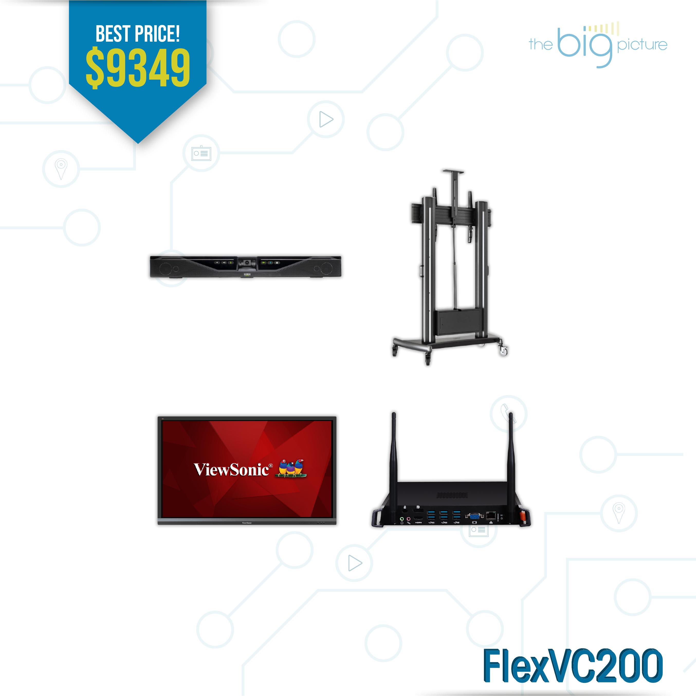A set of products for FlexVC100