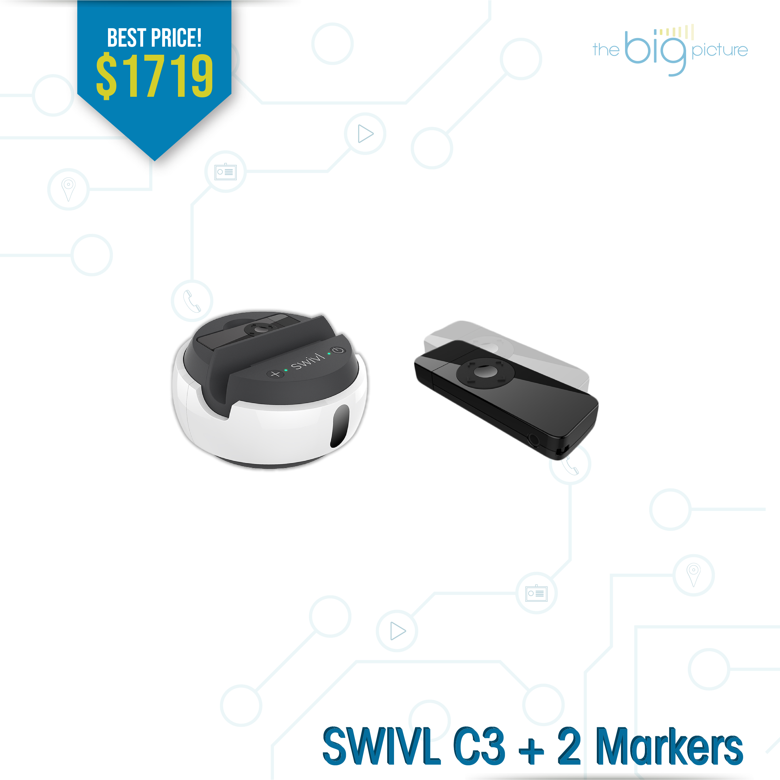A set of products for SWIVL C3 + 2
