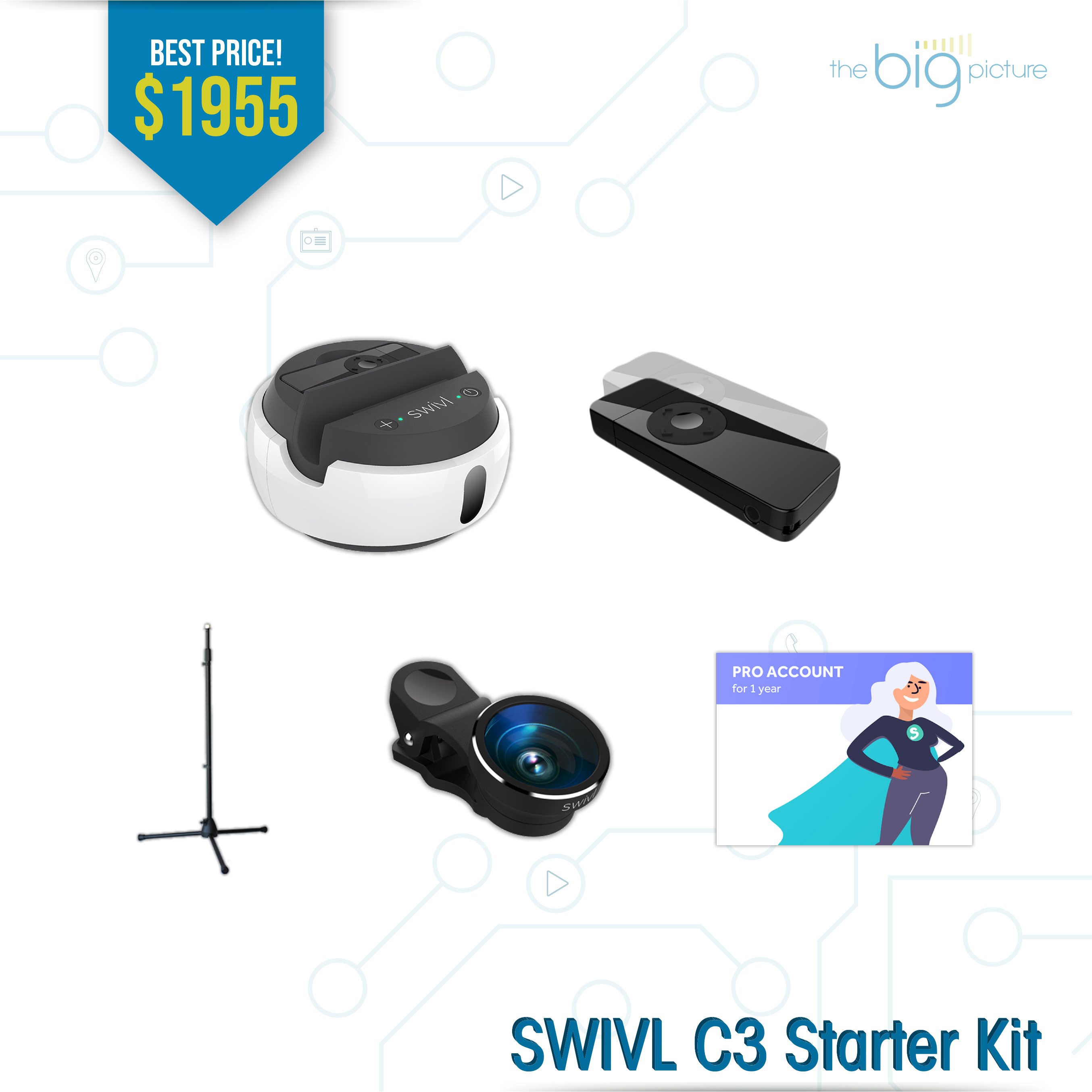 A set of products for SWIVL C3