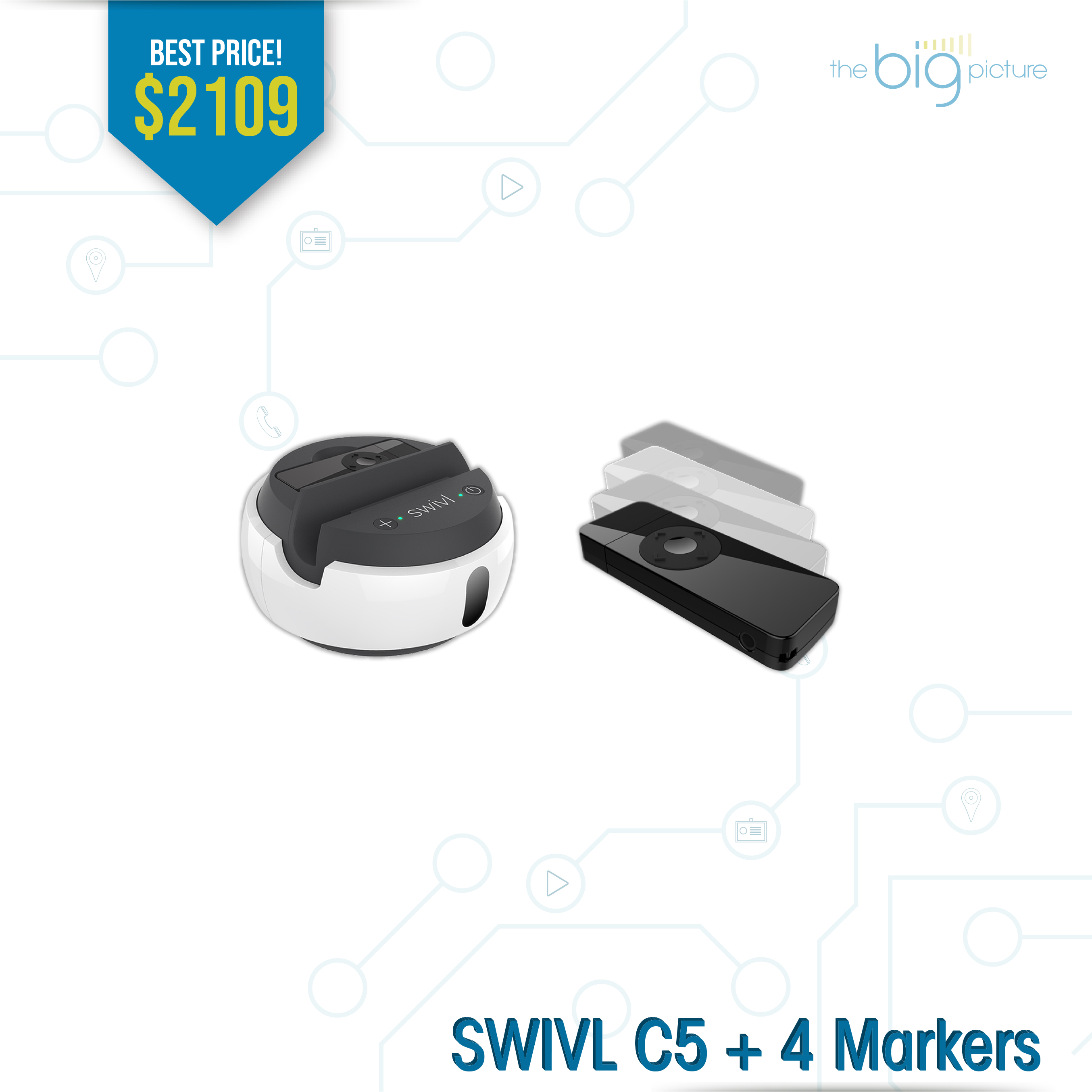 A set of products for SWIVL C5 + 4