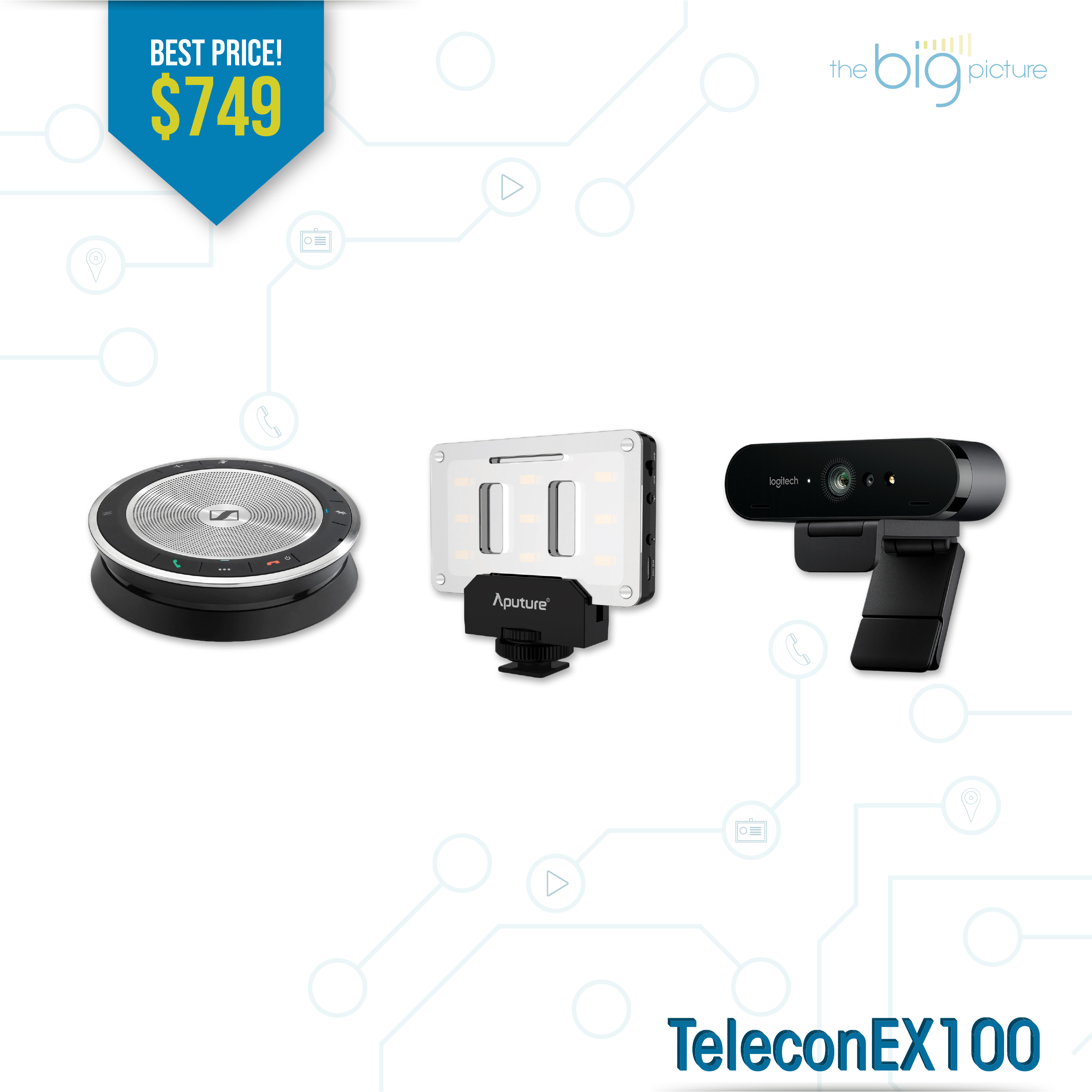 A set of products for TeleconEx100