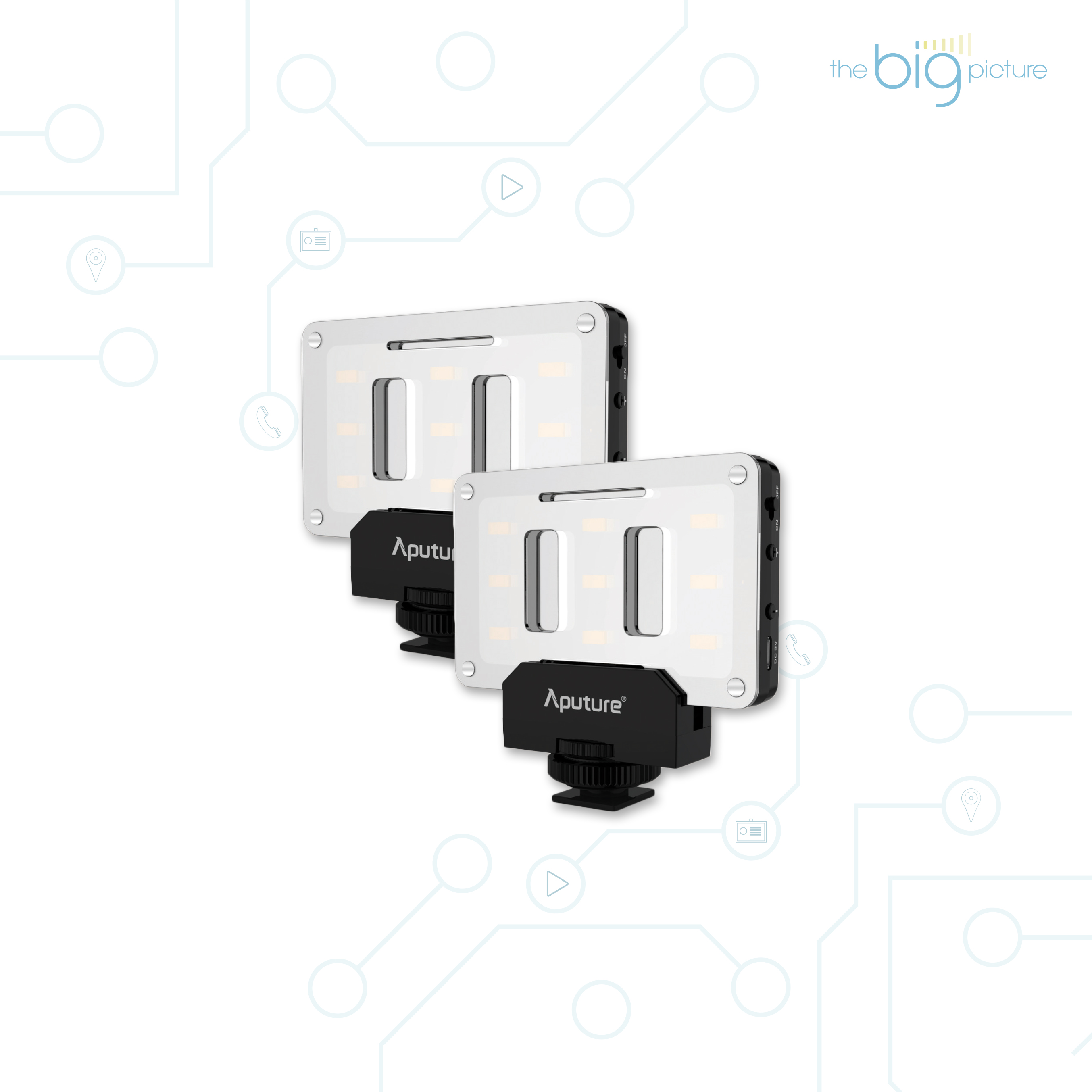 Aputure AL-M9 - pocket sized LED video light.