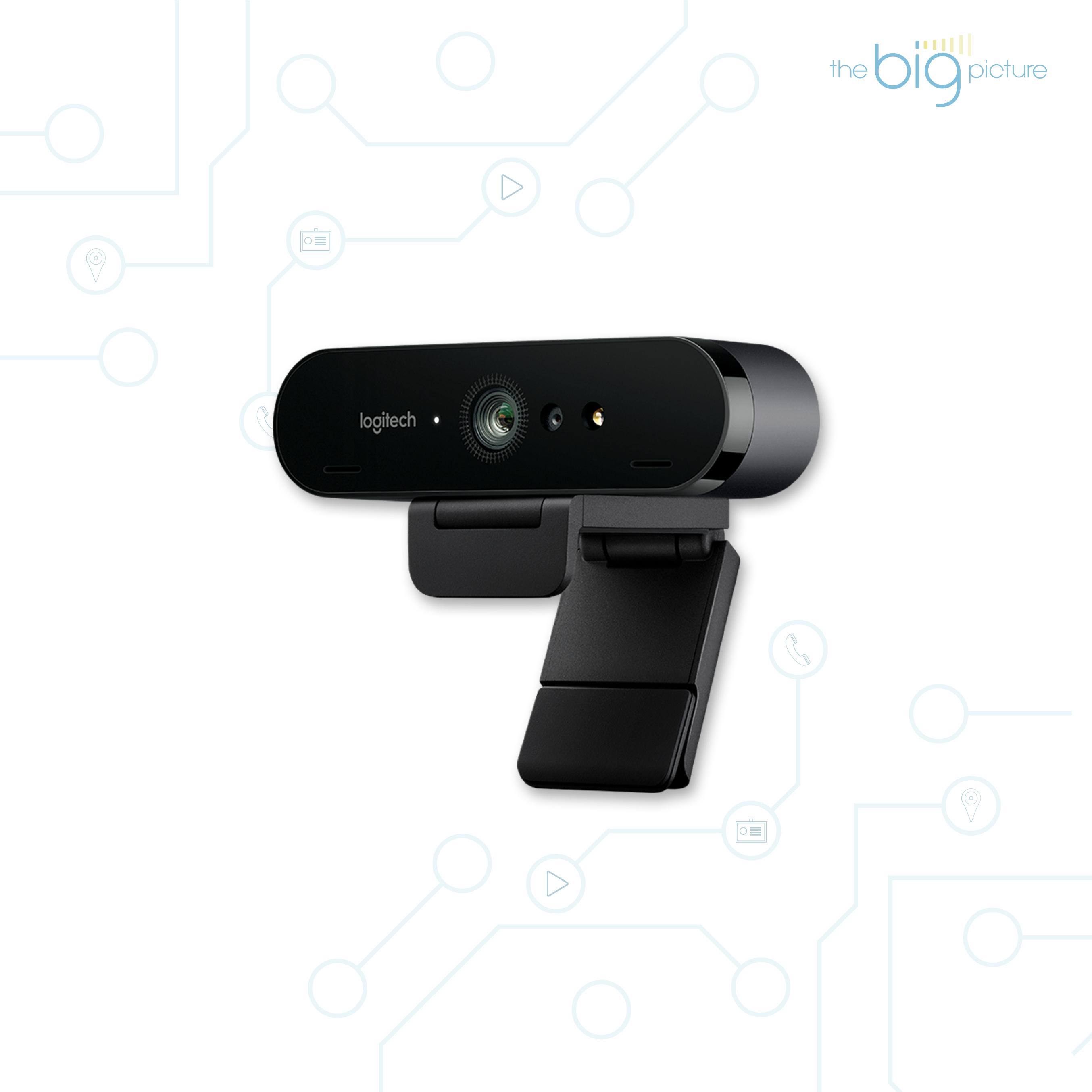 Logitech Brio - technologically advanced web camera.