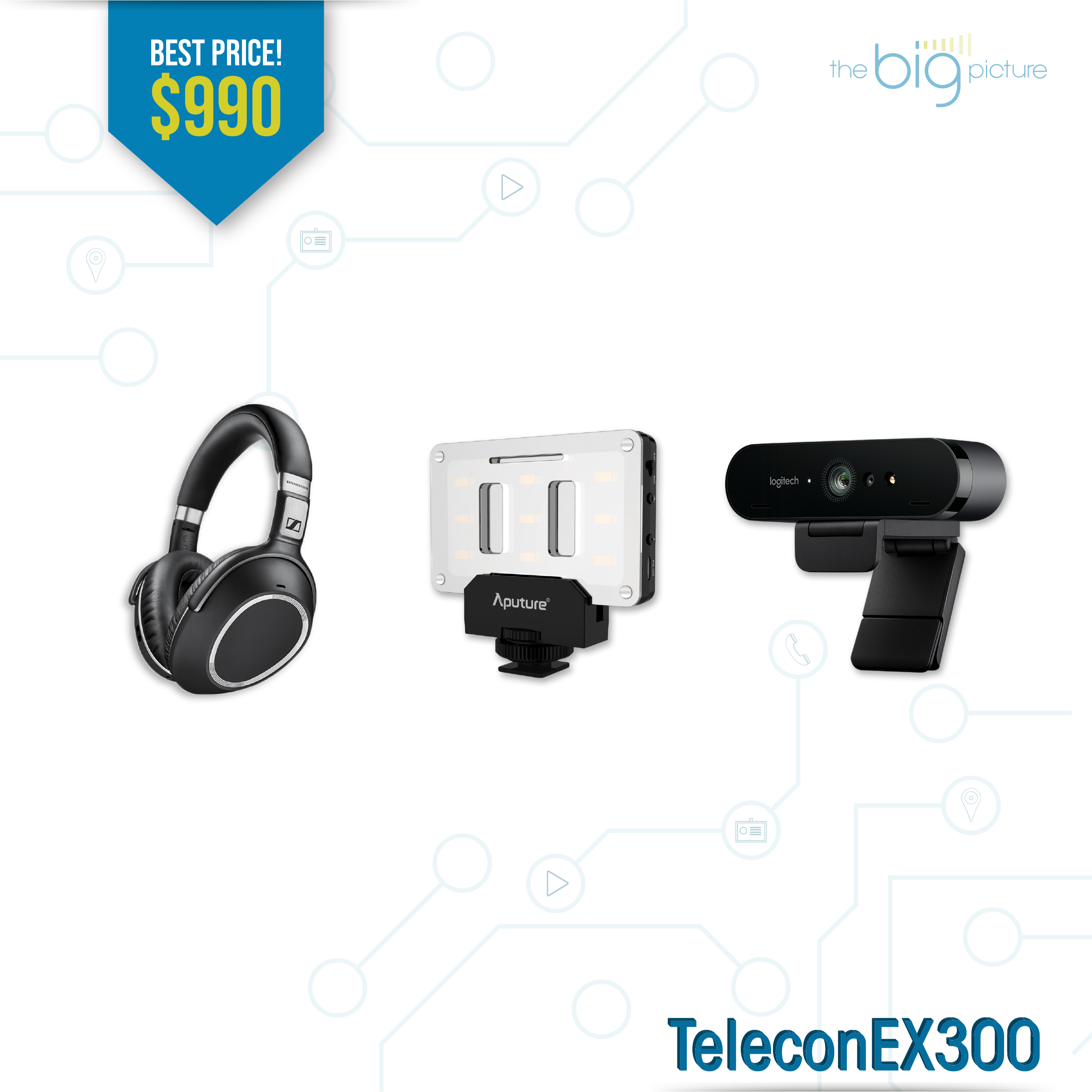 A set of products for TeleconEx300