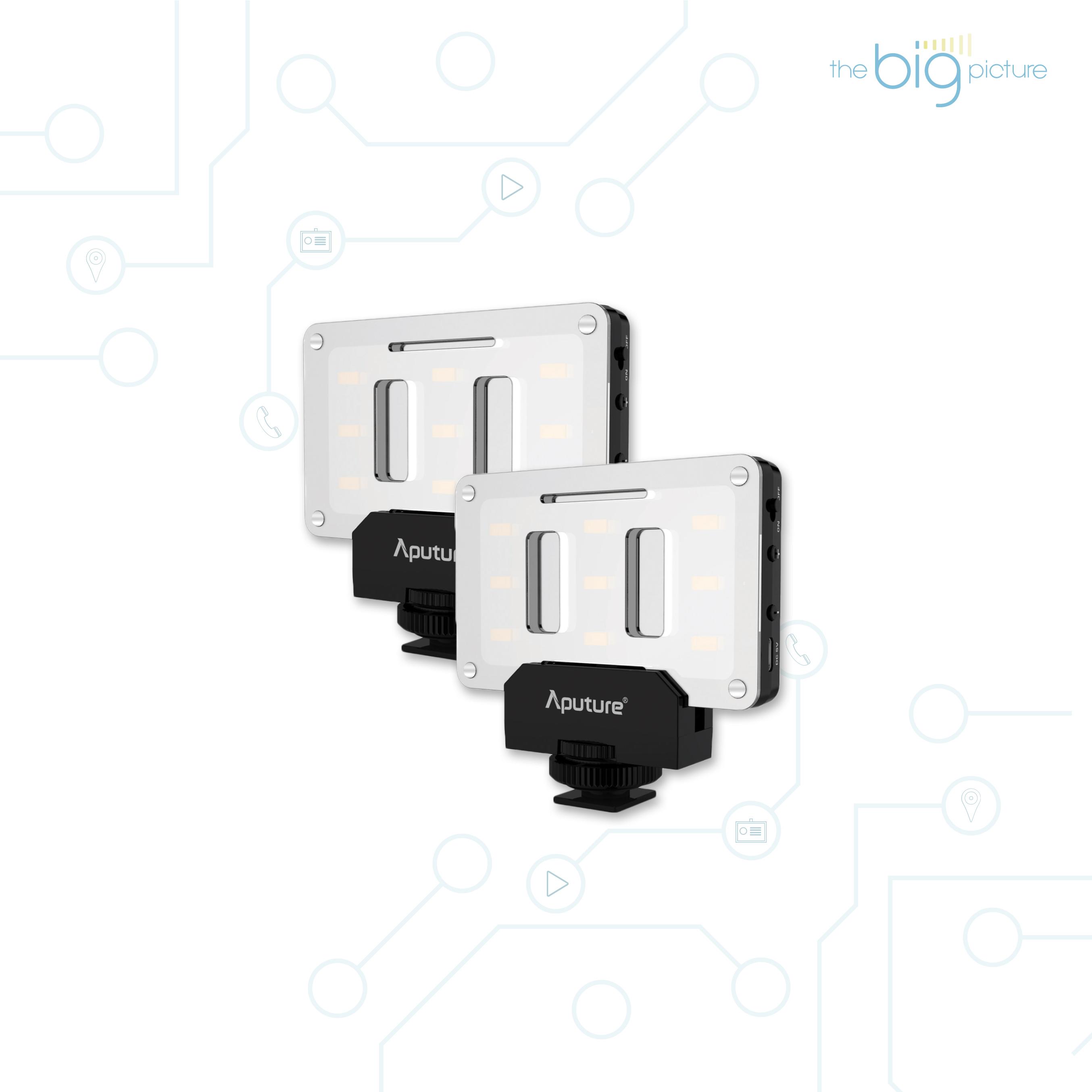 Aputure AL M9 - pocket sized LED video light.