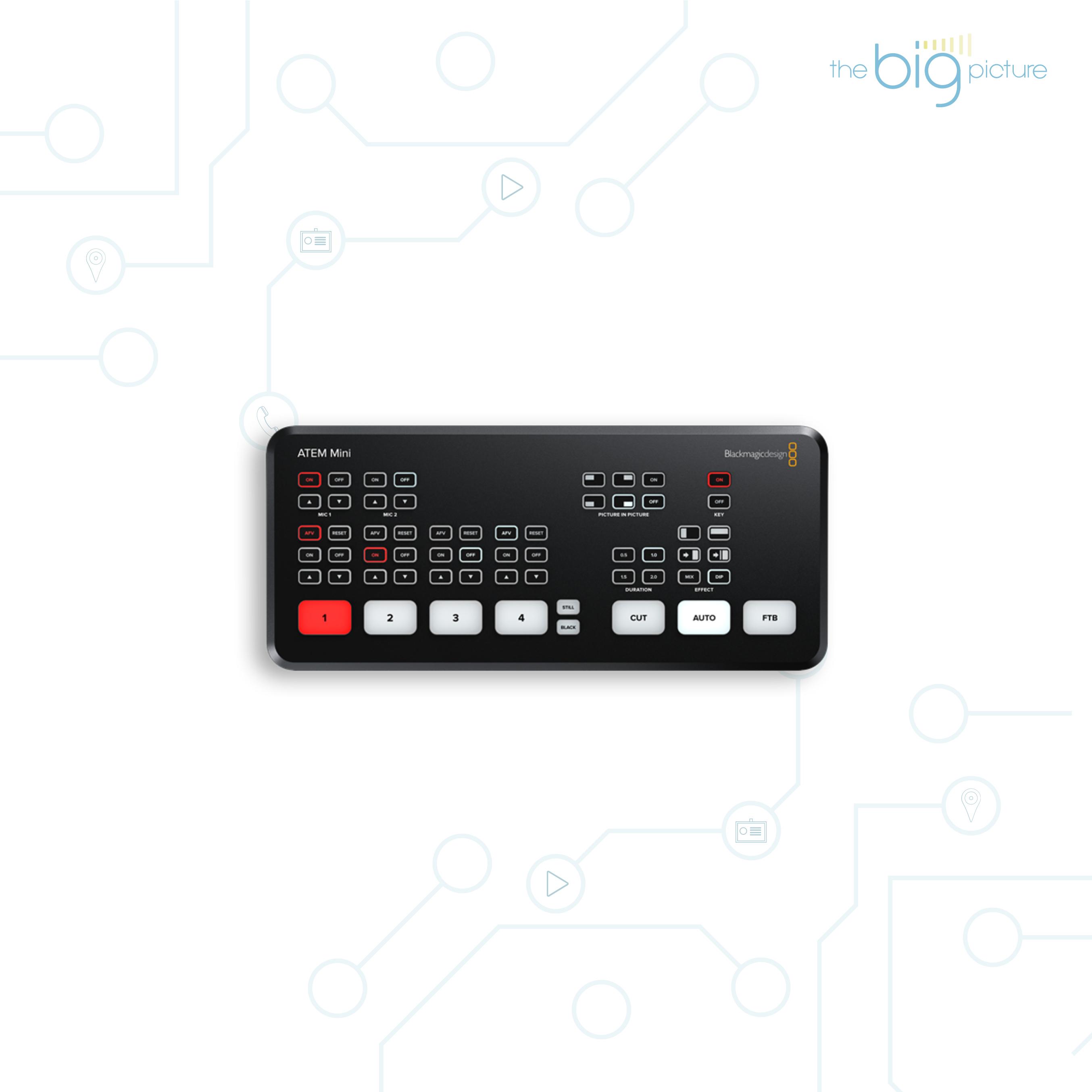 ATEM Mini HDMI Live Stream Switcher