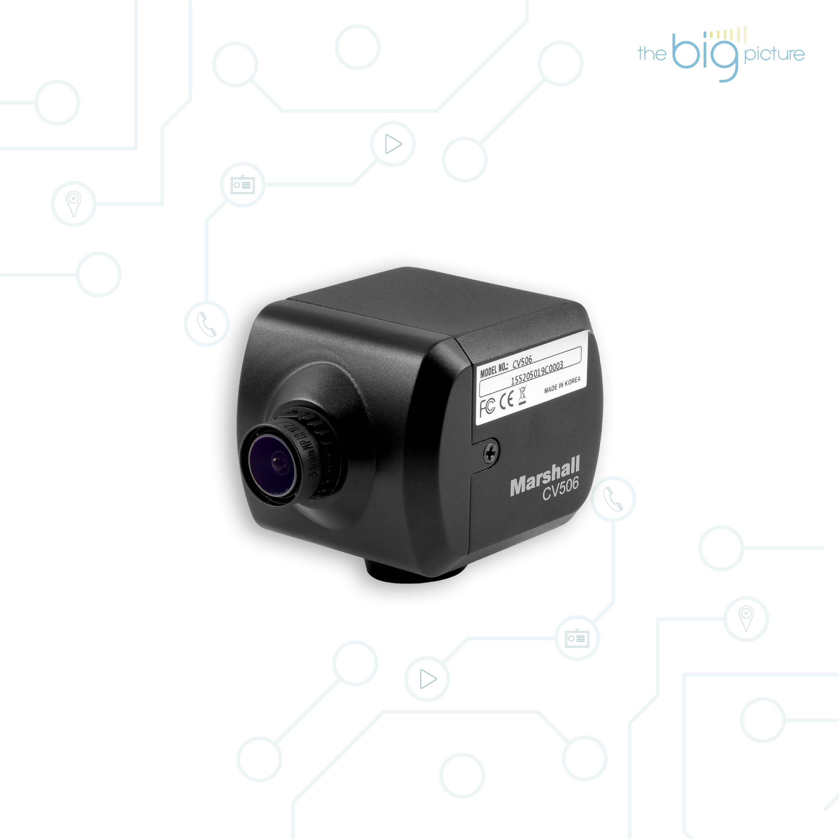 Marshall CV506 a high-speed camera