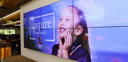 The Springfield Anglican College Videowall