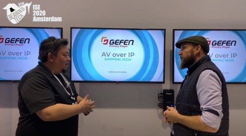 Gefen presents new technologies built for Retail Digital Signage.... But... This could work beautifully in education.
