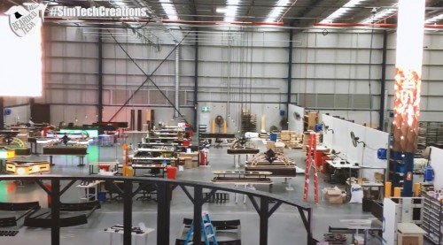 Check out what I saw inside Simtech plant